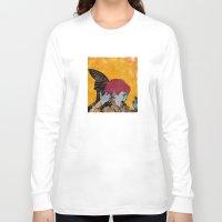 wesley bird Long Sleeve T-shirts featuring Bird by Alvaro Tapia Hidalgo