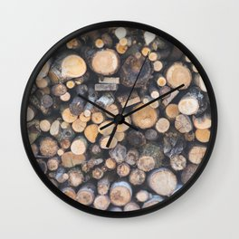 Stocked for Autumn Wall Clock