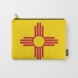New Mexico State Flag Carry-All Pouch