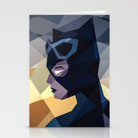 dc comics Stationery Cards featuring DC Comics Catwoman by Eric Dufresne