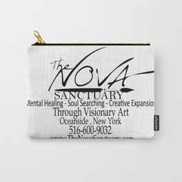 The Nova Sanctuary Logo Fully Loaded Carry-All Pouch
