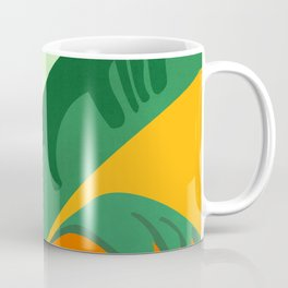 Things Are Looking Up 2 - Wide View / Tropical Greenery Coffee Mug