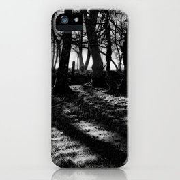 If You Go Down to the Woods Today... iPhone Case