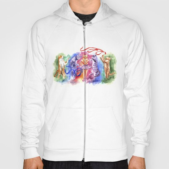 Dancing cats Hoody