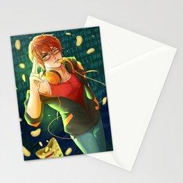 707 defender of justice Stationery Cards