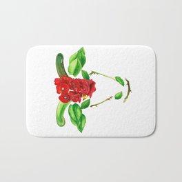 Taurus Roses Bath Mat