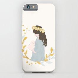 Nursing Mom iPhone Case
