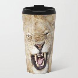The laughing lion Travel Mug