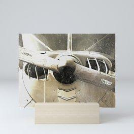 Antique Airplane Propeller Mini Art Print