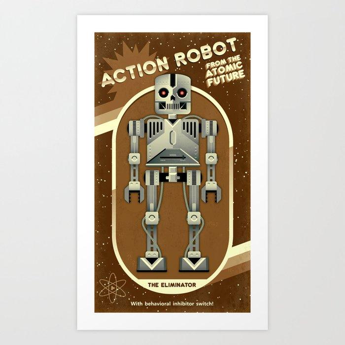 The Eliminator Art Print
