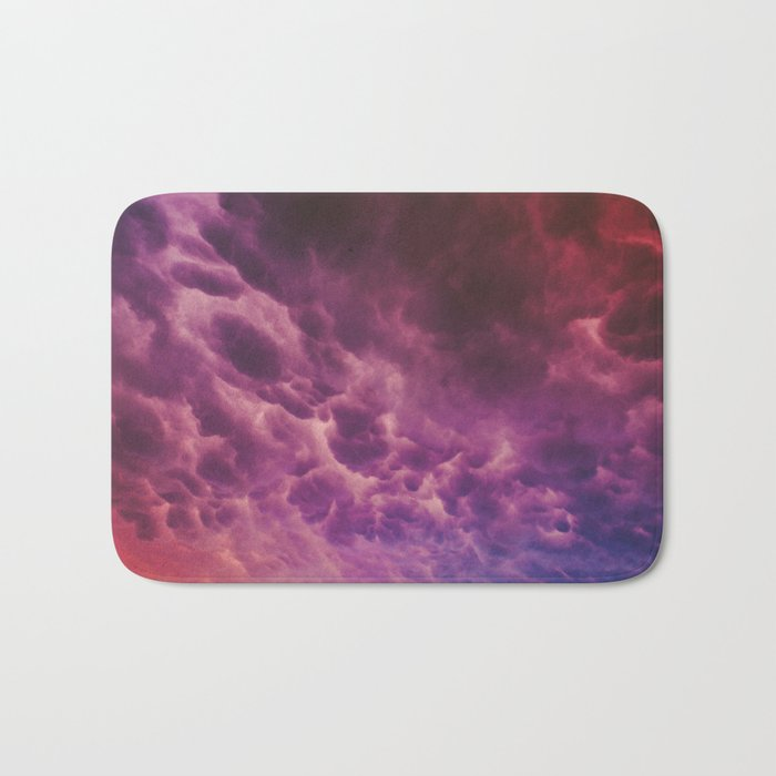 Stormy Saturation Bath Mat