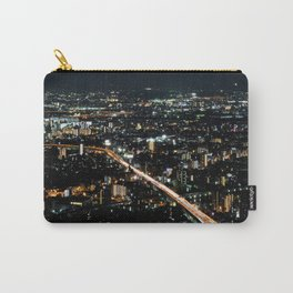 City View 'Night in Osaka, Japan' Carry-All Pouch
