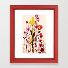 viva glow Framed Art Print