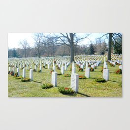 Arlington national cemetery photography Canvas Print