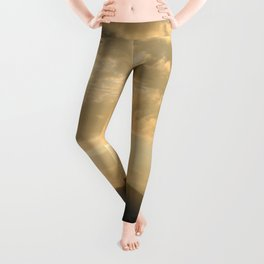 Golden Skies Leggings