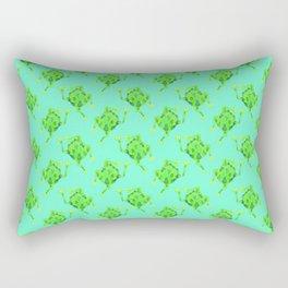 Frog Pattern Rectangular Pillow