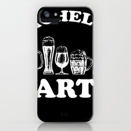 Stag hen party groom iPhone Case