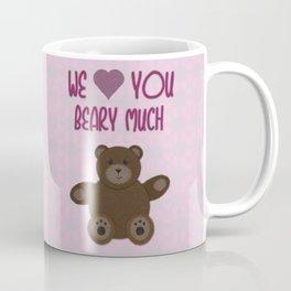We Beary Love Coffee Mug