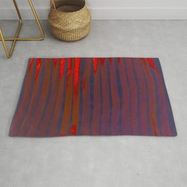 Red Lines Rug