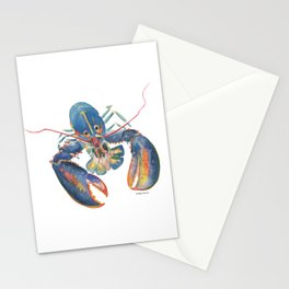 Sea Lobster Stationery Cards