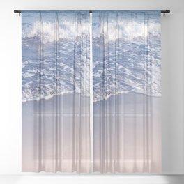 Ocean Beauty Dream #2 #wall #decor #art #society6 Sheer Curtain