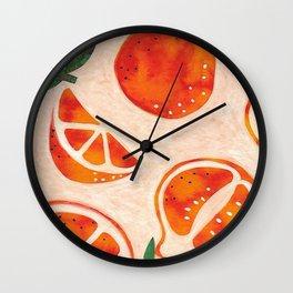 Tangelo Fun Wall Clock