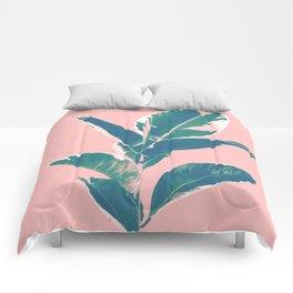 Ficus Elastica Finesse #3 #tropical #foliage #decor #art #society6 Comforters