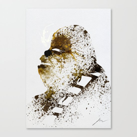 Chewi Canvas Print