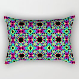 Geometric Colors 2 Rectangular Pillow