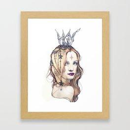 Good Witch Framed Art Print