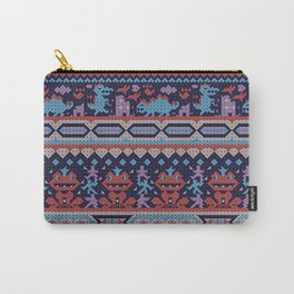 serbian history told through cross-stitch Carry-All Pouch