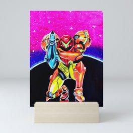 Samus Aran Mini Art Print