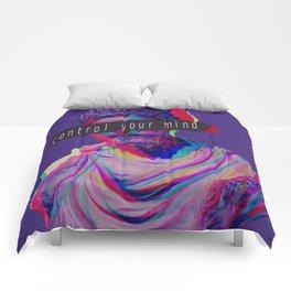 Control your mind vaporwave statue Marcus Aurelius Comforters