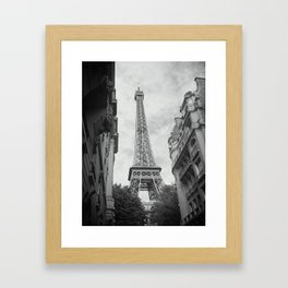 A View Of The Iron Lady Framed Art Print