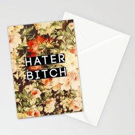 HATER BITCH Stationery Cards