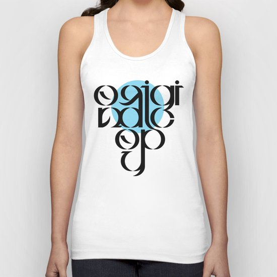 Original Copy Unisex Tank Top