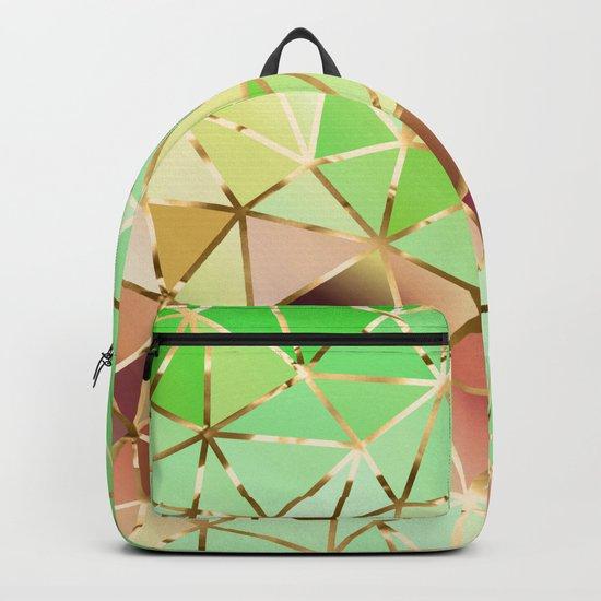 Rainbow Geometric Pattern #1 Backpack