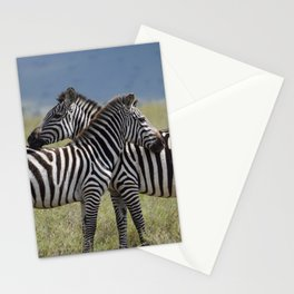 Serengeti Zebras I Stationery Cards