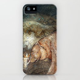 Among gnomes and trolls iPhone Case