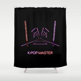 K-POP Master V2 Shower Curtain