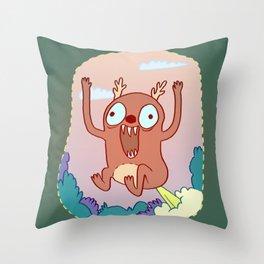 Dumb Pisser Throw Pillow