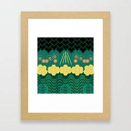 Rainforest HARMONY pattern Framed Art Print