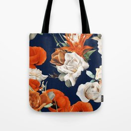 Citrus Floral Salad Tote Bag