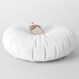 Funny-Nurses-T-shirt.-Nurses-Are-Born-In-September.-Best-Gifts Floor Pillow