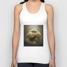 Study of a Gibbon - The Thinker Unisex Tank Top