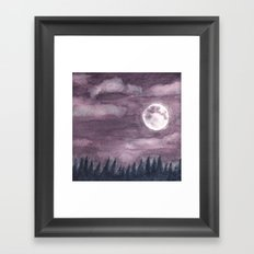 Moonglow Framed Art Print