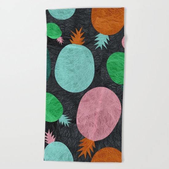 Pineapple Lovers Beach Towel