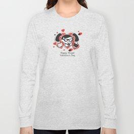 BAD GRACE: Happy Stupid Valentine's Day Long Sleeve T-shirt