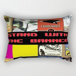 Stand With the Banned Rectangular Pillow