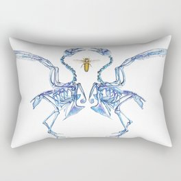 Mirrored Malady + the Visitor Rectangular Pillow